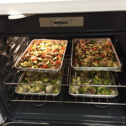quick and easy roasted veggies