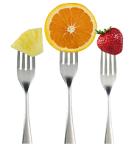 MyPlate forkfruits