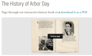 Arbor Day History