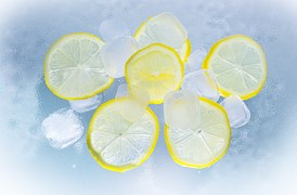 lemons and ice