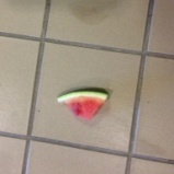 watermelon-on-tile