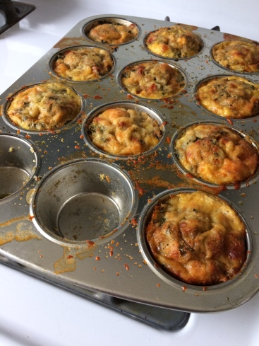 muffin tin fritattas