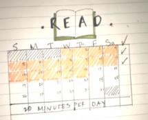 Reading calendar log example
