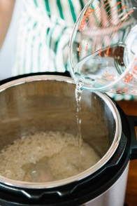 adding water to electric pressure cooker