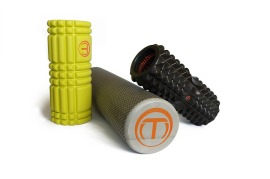 assorted foam rollers