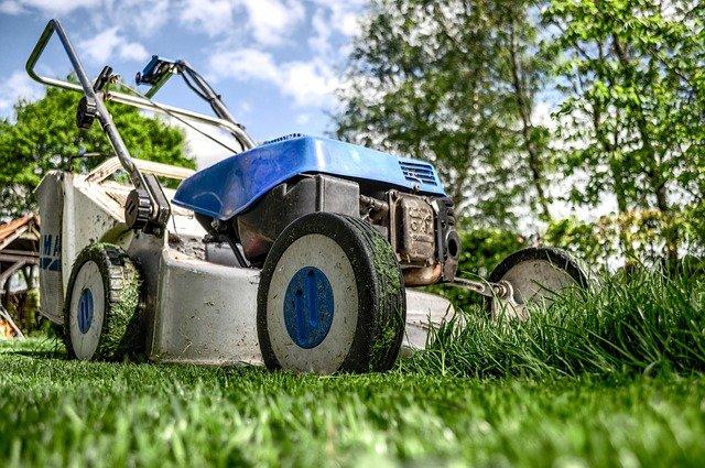 a lawn mower