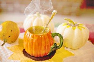 pumpkin spiced drink